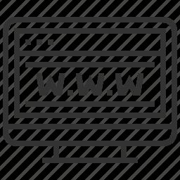 communication, design, internet, network, seo, web, website icon