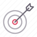 aim, dartboard, goal, success, target icon