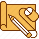 design, drawing, graphic, mouse, pencil, project, tool icon