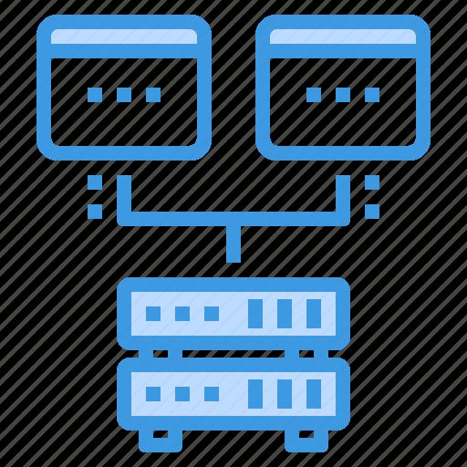 browser, center, computing, data, interface, internet, ui icon