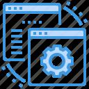 browser, computing, interface, internet, maintenance, ui, web icon