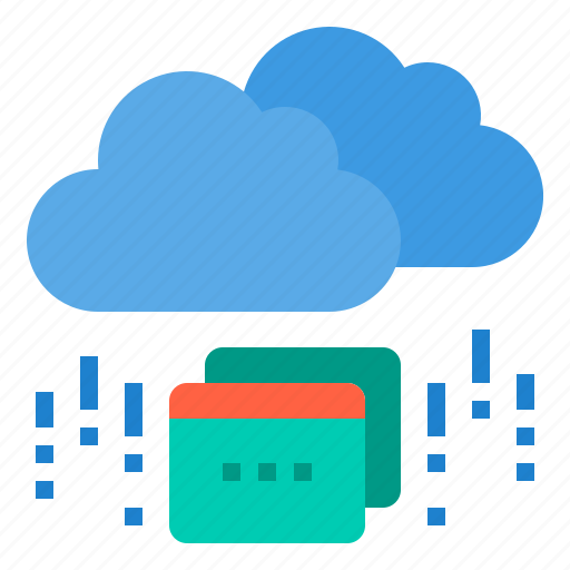 browser, cloud, computing, interface, internet, ui icon