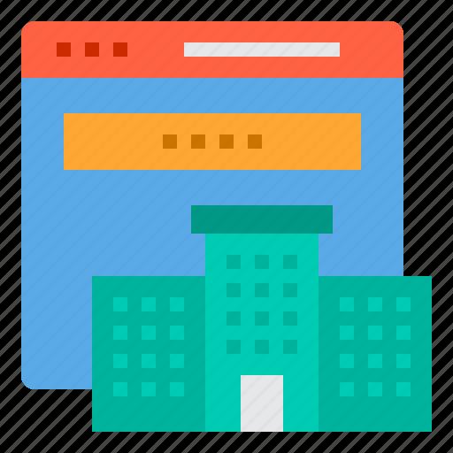 browser, computing, estate, interface, internet, real, ui icon