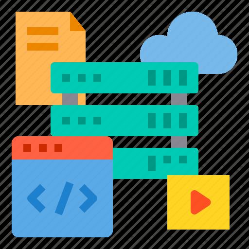browser, computing, interface, internet, server, ui, web icon