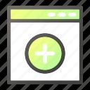add, code, coder, interface, plus, programming