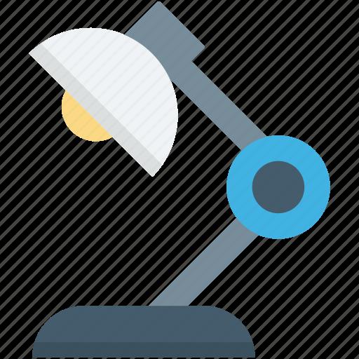 Table lamp, desk lamp, lamp light, desk light, lamp icon