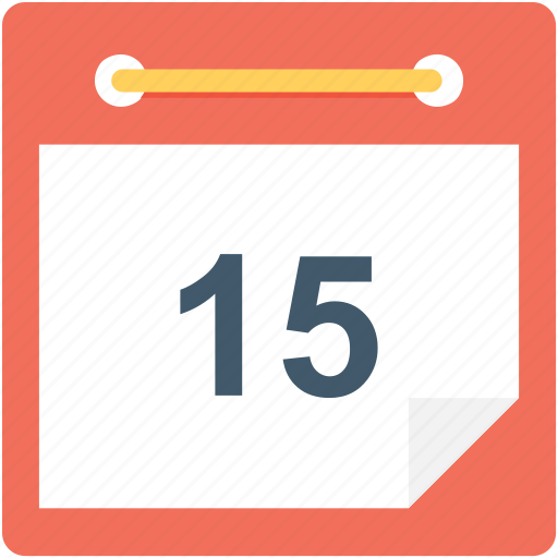 calendar, schedule, timeframe, wall calendar, yearbook icon