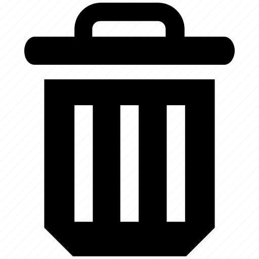 Bin, dustbin, garbage, garbage can, recycle, trash, waste icon - Download on Iconfinder