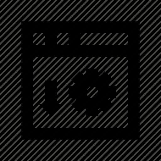 cog, network setting, server preferences, server setting, server tools icon