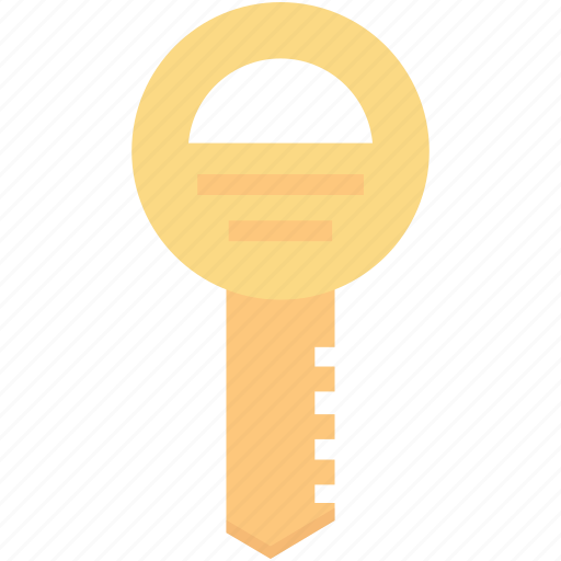 key, lock key, protection, retro key, safety icon