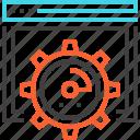 cogwheel, optimization, performance, seo, settings, speed, web