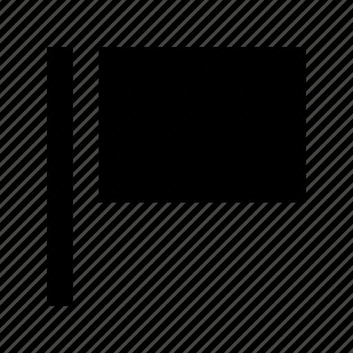 Destination flag, ensign, flag, flagpole, location flag icon - Download on Iconfinder