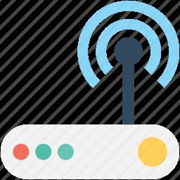 internet device, wifi modem, wifi router, wifi signals, wireless internet icon