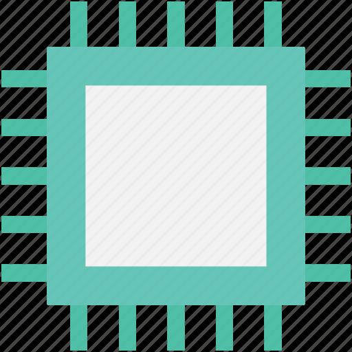 computer chip, memory chip, microchip, microprocessor, processor chip icon