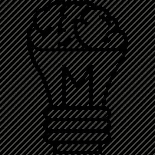 big idea, bulb, creative idea, creativity, idea icon