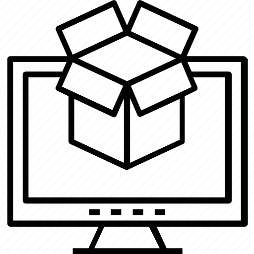 branding, material, packaging, packing, stuff icon