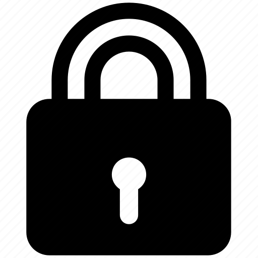 lock, locked, padlock, password, secure, security, unlock icon