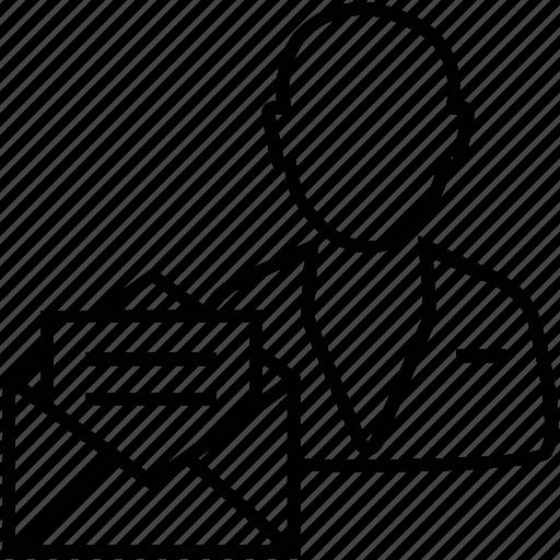 avatar, brief, client brief, documents, email icon