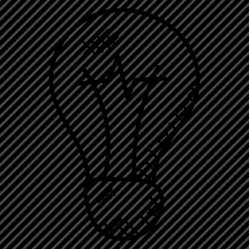 Bulb Idea Incandescent Lamp Light Bulb Icon