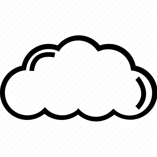 cloud, cloud computing, nature, weather icon