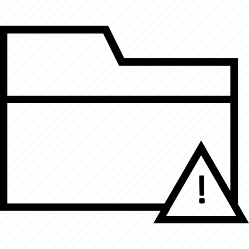 data error, folder, folder error, remove folder icon