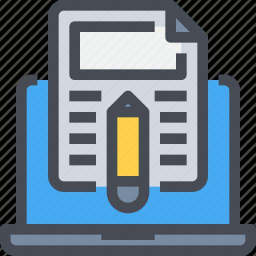 business, computer, content, development, programming, seo, writing icon