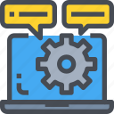 computer, develop, development, process, programming icon
