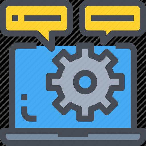 computer, develop, development, process, programming icon