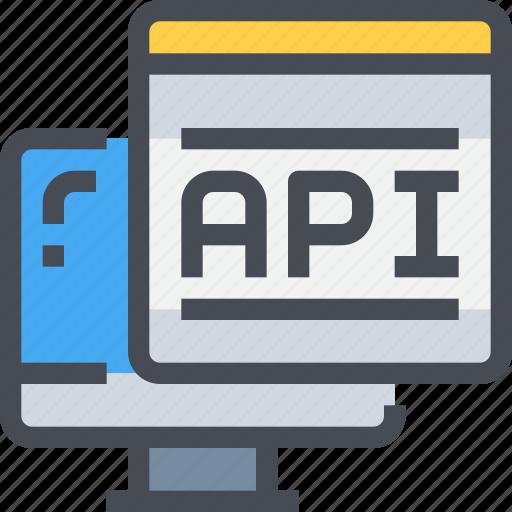 api, code, coding, computer, programming icon