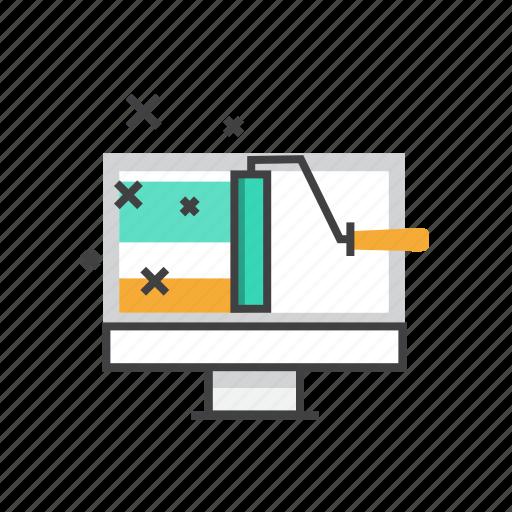 creative, design, internet, web, website icon
