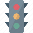 signal lights, traffic control, traffic lamp, traffic lights icon