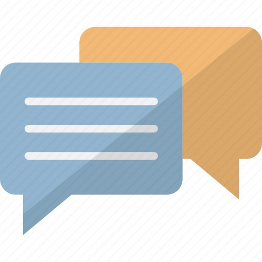 business discussions, chatting, communication, conversation icon