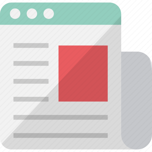 digital newsletter, newsletter, newsletter design, newsletter email icon