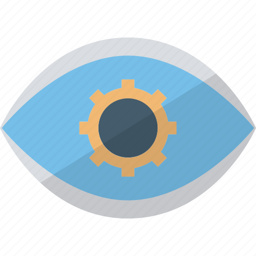 creative design, creative eye, cyborg eye, design inspirations icon