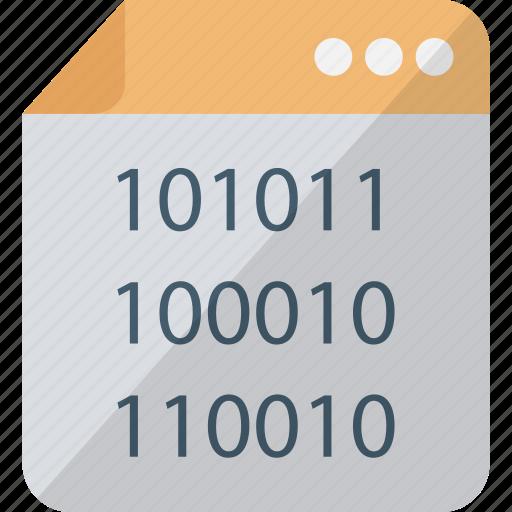 html, programming, source code, web coding icon
