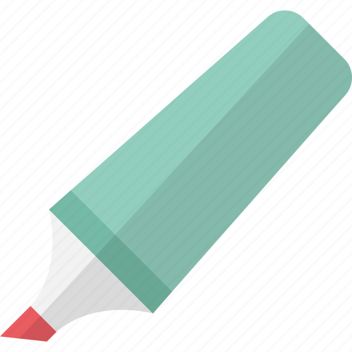 highlighter, highlighter pen, office supplies, stationery icon