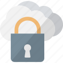 cloud computing security, cloud data security, cloud information security icon