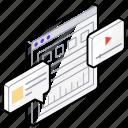 search engine optimization, seo, video seo, web design, web development, web video icon