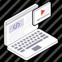 html, video website, web coding, web design, web programming, web video icon