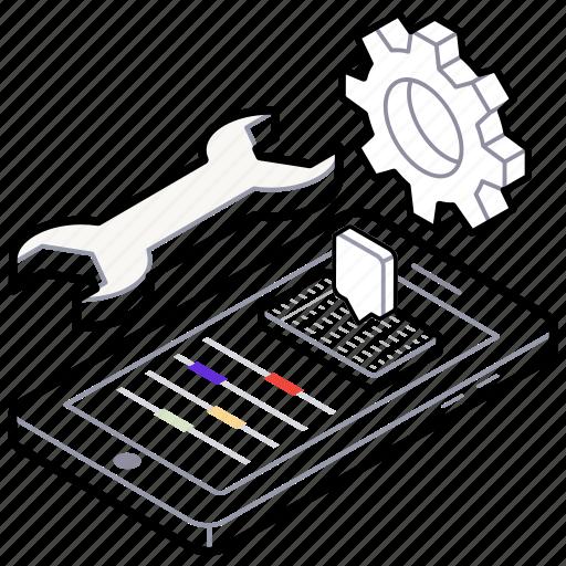 html, php development, programming, software development, web development icon