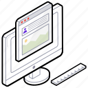 software development, web coding, web development, web improvement, website maintenance icon