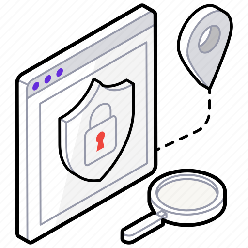 web application security, web protection, web security, website firewall, website security icon
