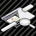 internet explorer, searching bar, web page, web search, website search icon