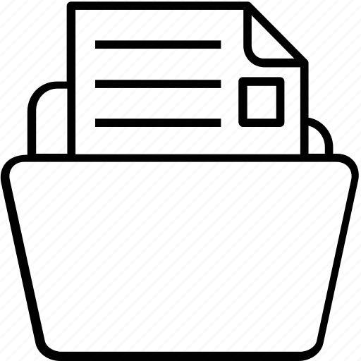 content, data, documents, folder, storage icon