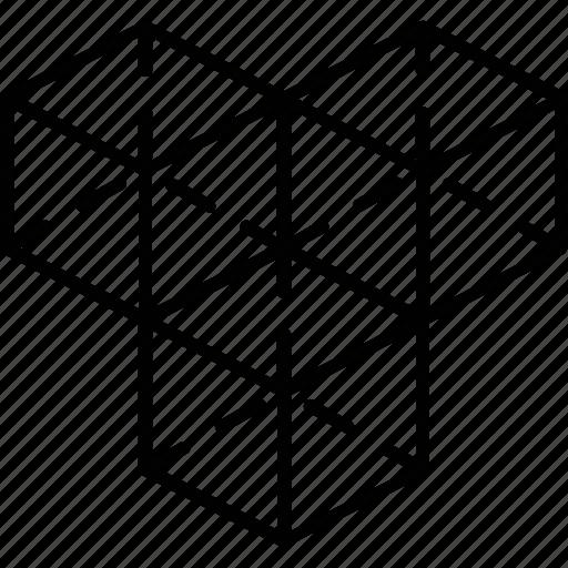 3d, 3d modeling, cube, design, modeling icon