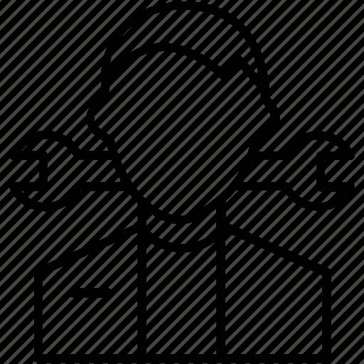 cogwheel, maintenance, service, settings, spanner icon