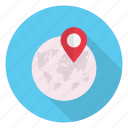 global, location, map, pinpoint, world