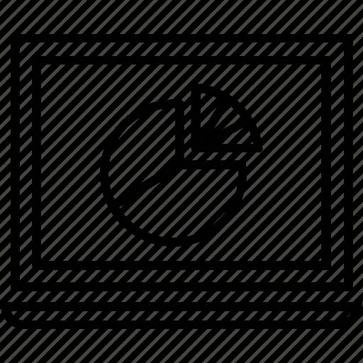 creative, gem, graph, pie, planning icon
