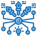 algorithm, design, internet, technology, web, website icon