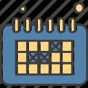 calendar, date, design, development, schedule, web